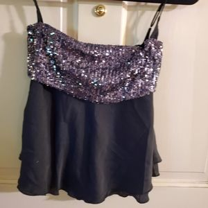 NWT FREE People Embellished Top. SZ S